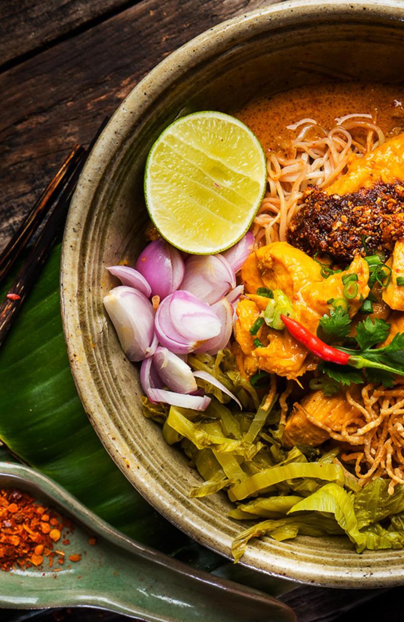 สอนการทำอาหารไทย