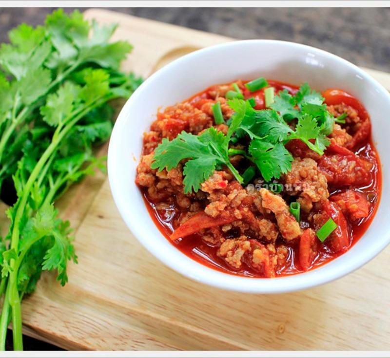 Nam Prik – Aong (Tomato Spicy Dip)