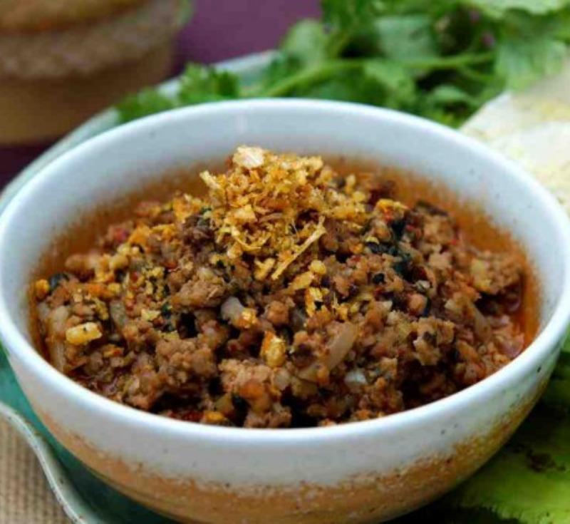 Laab Kui(Spicy Pork Salad)