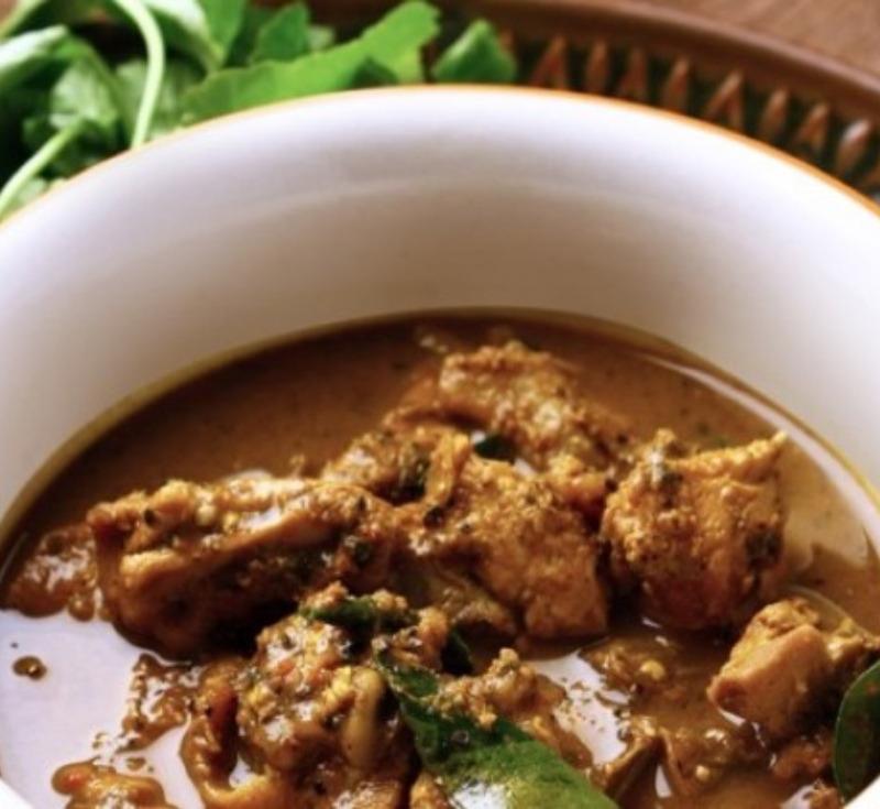 Gaeng Kui Gai Baan (Chicken in Red Curry)